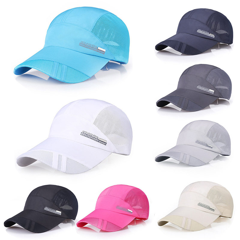 Outdoor Sport Running Climbing Mesh Hat Men Quick-drying Summer Visor Cap