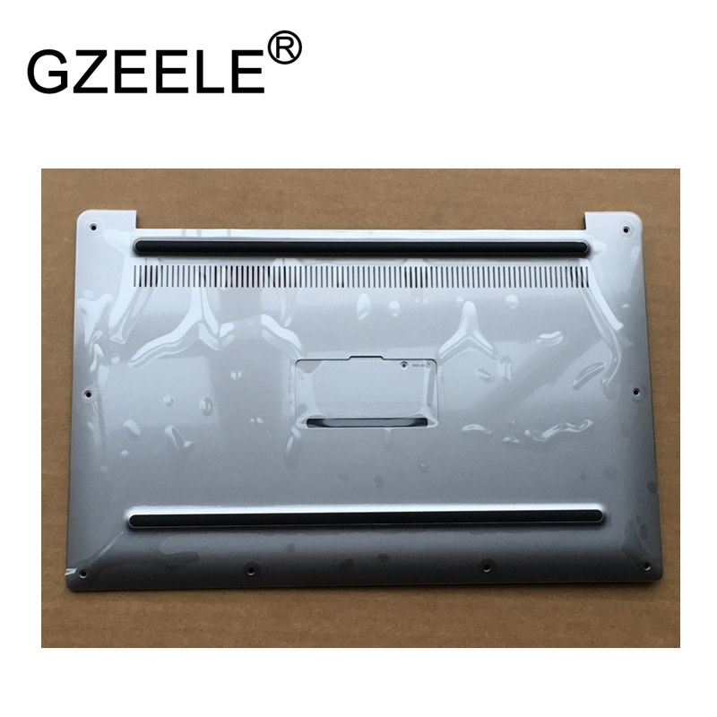 GZEELE new Base Bottom case Bottom Cover Assembly FOR Dell XPS13 9343 9350 9360 series LAPTOP BOTTOM CASE COVER NKRWG 0NKRWG gzeele new laptop bottom base case cover for dell xps 15 l501x l502x series lower case pn 70fm3 070fm3 assembly silver