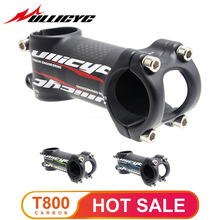 цена Bicycle  Forged Alloy carbon stem Ultra light Superstrong Mountain /Road bike  Bicycle Stem 6 or 17 Degree 31.8mmX (80-120mm) онлайн в 2017 году