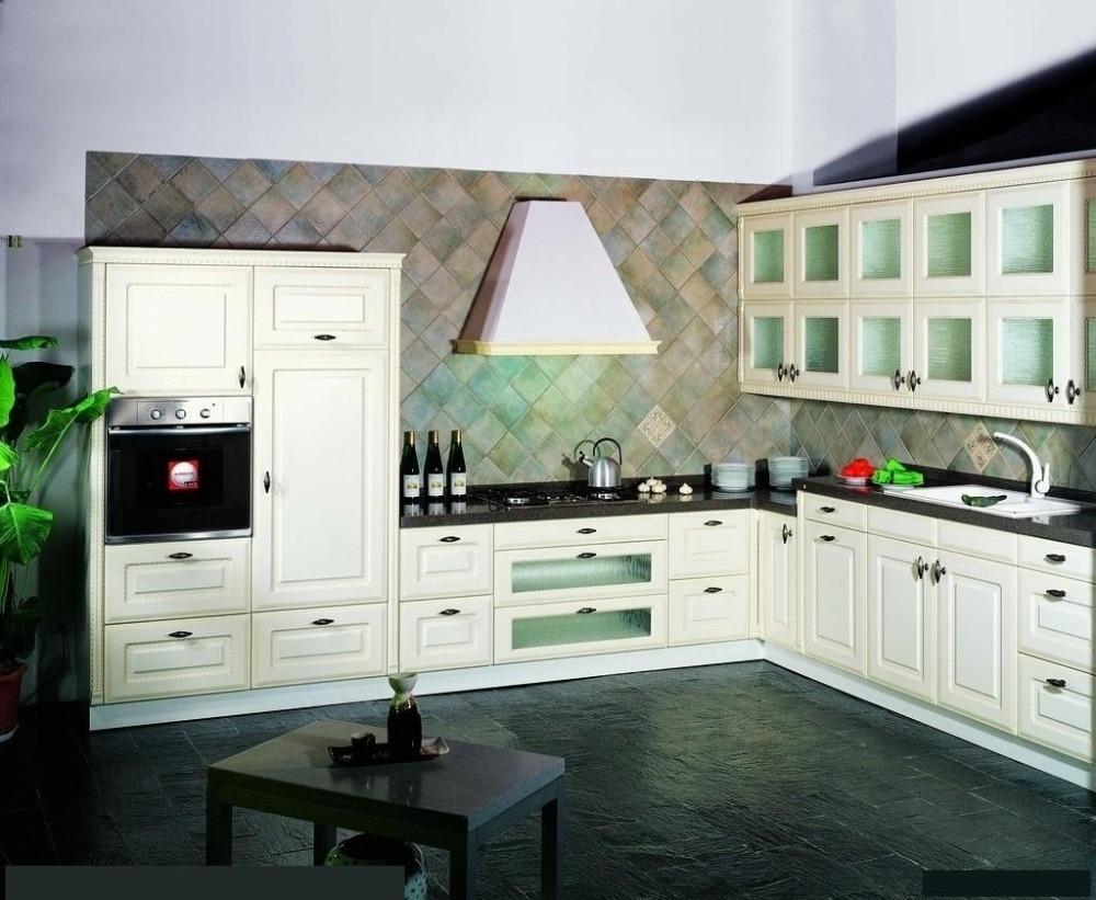 Hot modern Europe style lacquer matte color font b kitchen b font font b cabinet b