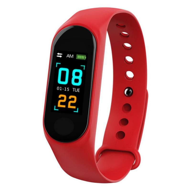 M3 Replaceable Strap Fitness Tracker Smart Wristband Smart Bracelet Heart Rate Monitor Blood Pressure Band For All Smartphones xanes a6s