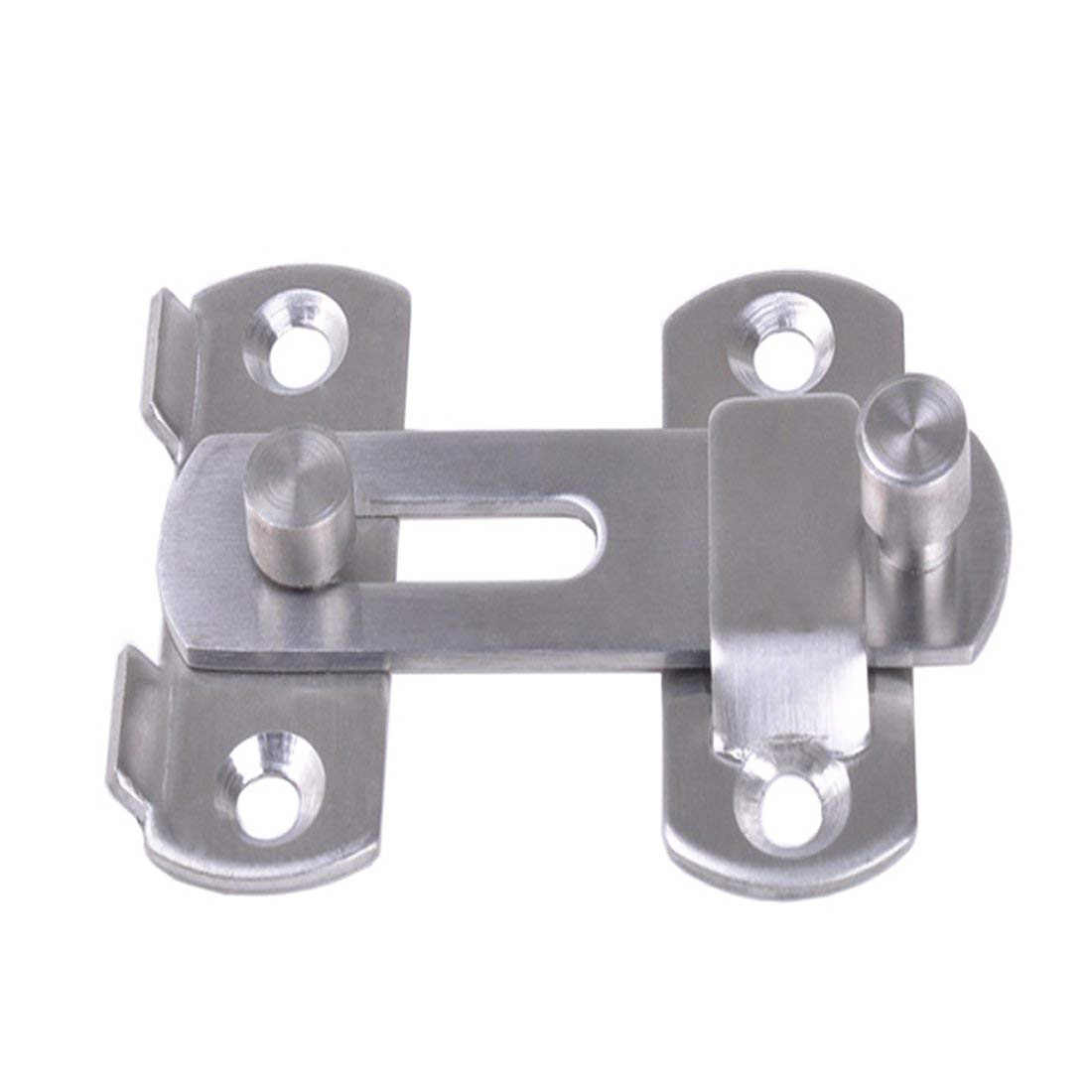 Hasp Latches Stainless Steel Hasp Latch Lock Sliding Door Chain Locks Security Tools Hardware For Window Cabinet