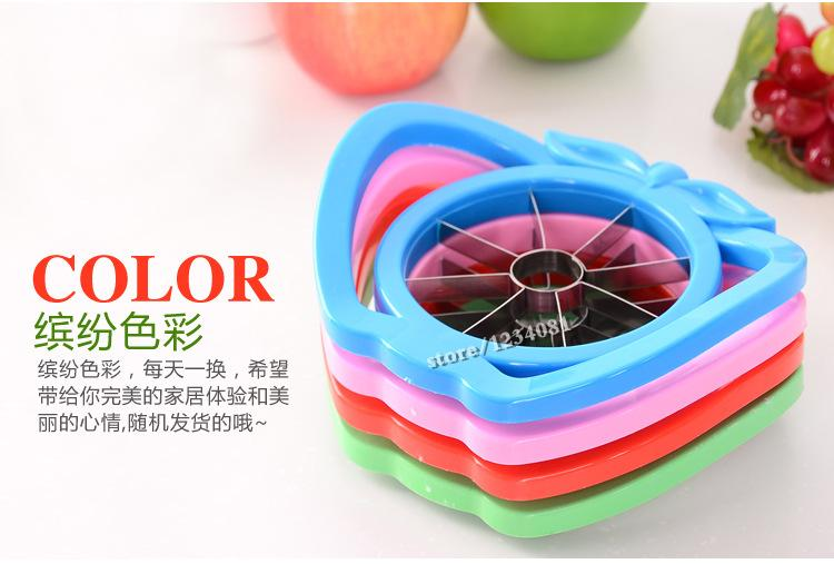 New arrival cut fruit Multi-function stainless steel shredders slicers Cut the apple device +Gift Orange Zesters Device samll