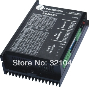 Leadshine 3 Phase Analog Stepper Driver 3DM683 leadshine stepper motor driver 3dm 683 3 phase digital stepper drive max 60vac 8 3a