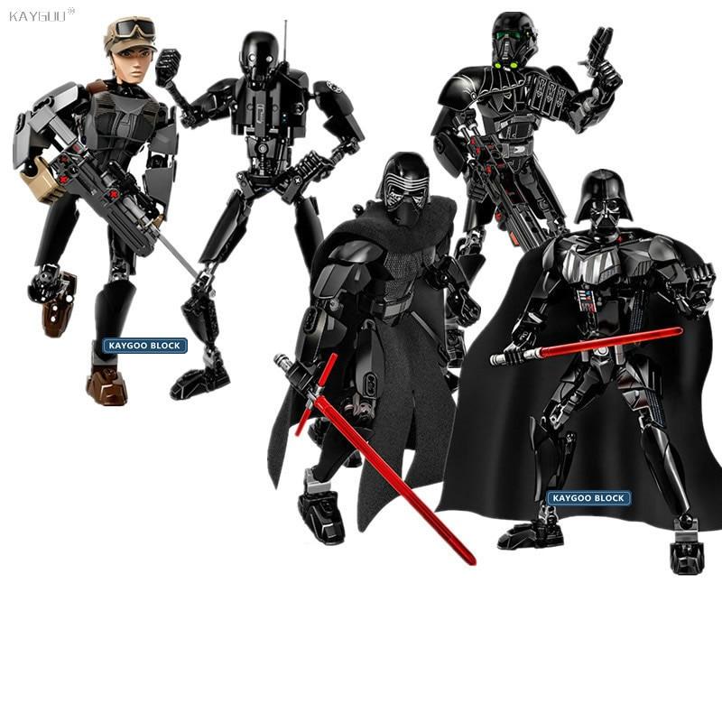 Kaygoo Star Series Space War Figure Darth Vader White