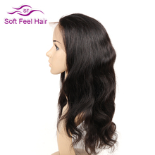 Soft Feel Hair Full Lace Human Hair Wigs With Baby Hair Pre Plucked Body Wave Brazilian Non Remy Hair Wigs For Black Women