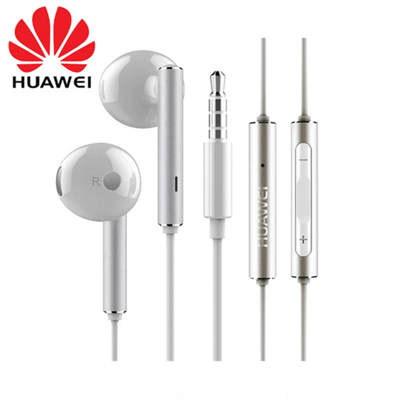 HUAWEI Earphone Metal Mic-Volume-Control Mate P9-Lite Honor P10-Plus AM116 with for P7 title=