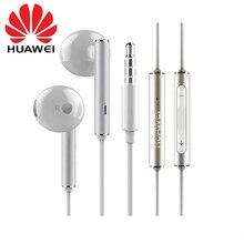 Original Huawei Honor AM116 écouteur métal avec micro contrôle du Volume pour HUAWEI P7 P8 P9 Lite P10 Plus Honor 5X 6X Mate 7 8 9