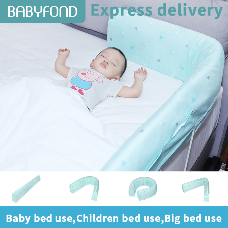 Express delivery 1.2-2 Meters Bed Fence Multifunctional memory cotton guardrail Fall-proof Baby Bed rail  mom pillow Free instalExpress delivery 1.2-2 Meters Bed Fence Multifunctional memory cotton guardrail Fall-proof Baby Bed rail  mom pillow Free instal