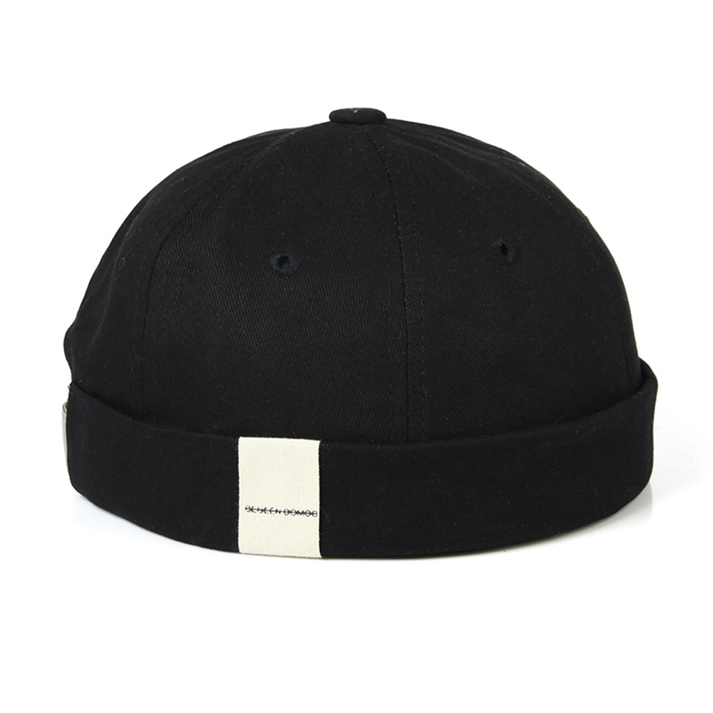 Mens Adjustable Brimless Hat Women Vogue Retro Skullcap Docker Sailor Cap Biker Cap   Beanie   Retro Sun Hats Topee Unisex 2019 New