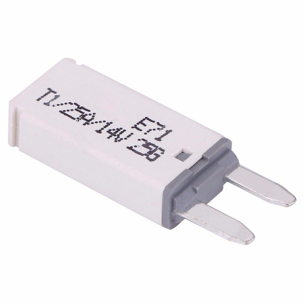 14v dc 25a white color automatic reset mini circuit breaker blade rh aliexpress com