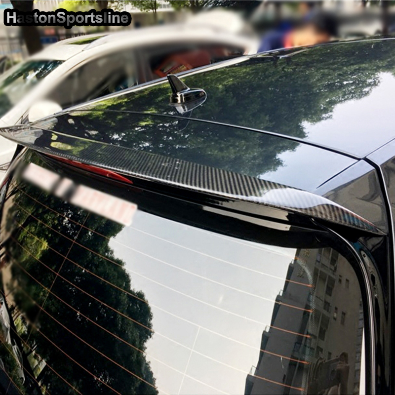 For Volkswagen VW <font><b>Golf</b></font> 7 VII MK7 Carbon Fiber Rear Roof Spoiler Wing 2014~<font><b>2018</b></font> (not for GTI and <font><b>R</b></font>) image