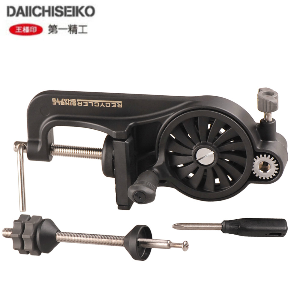DAIICHISEIKO Portable Japan Brand Quality Line Spooler Line Wind Line Apooler   For Fishing Reel Line Winder Fishing Tools