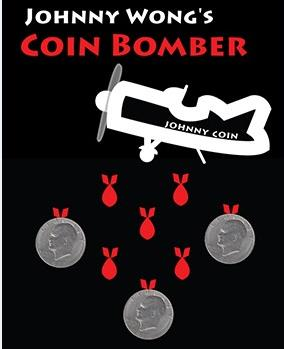 Coin Bomber (Morgan Coin) by Johnny Wong Coin Magic Tricks,Stage Magic,Close Up,Illusion,mentalism eclipse mentalism magic trick classic magic gimmick coin magic close up coin vanishing electric device