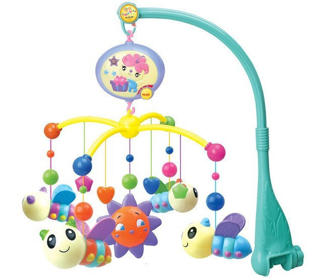 hanglei toys bees and flowers mobile bedroom toys baby bed bell