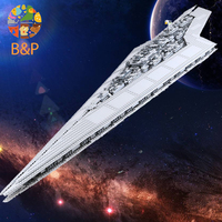 DHL Hot 3208PCS 05028 Building Blocks Imperial Star Destroyer Model action wars Bricks Toys Compatible with 10221