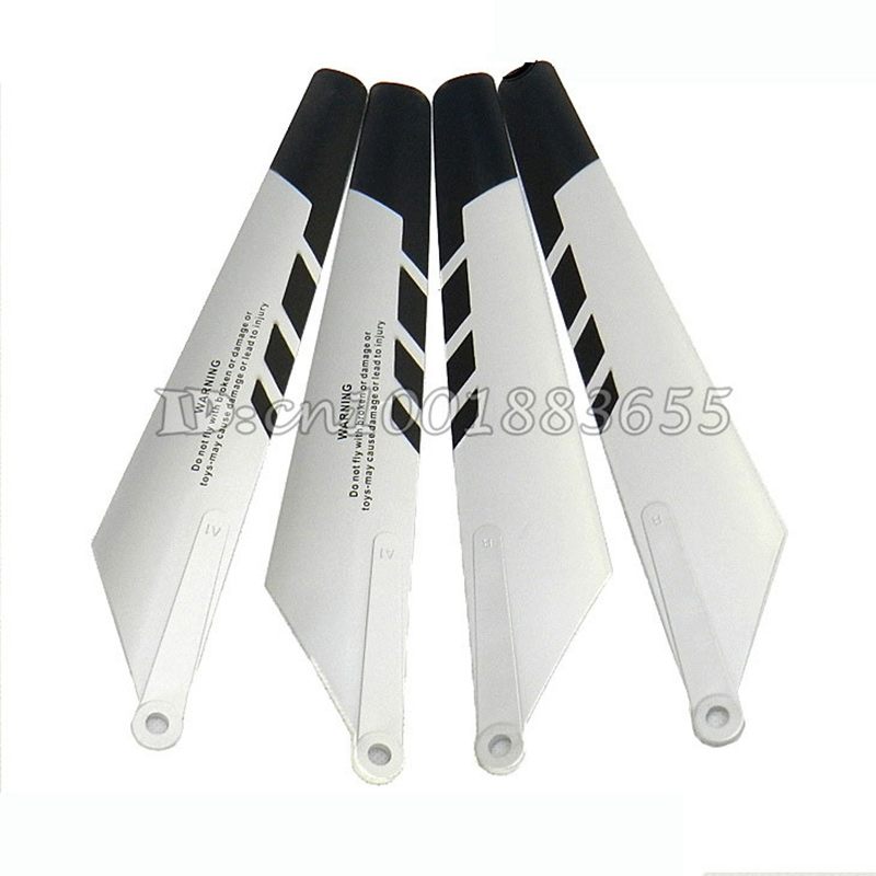 Wholesale/Double Horse DH 9053B spare parts Main blade 2A+2B 9053B-04 for DH9053B RC Helicopter  from origin factory double horse dh 9116 spare parts charger charger box 9116 21 for dh9116 9053 9053b 9097 9100 9101 9104 9117 9118 rc helicopter