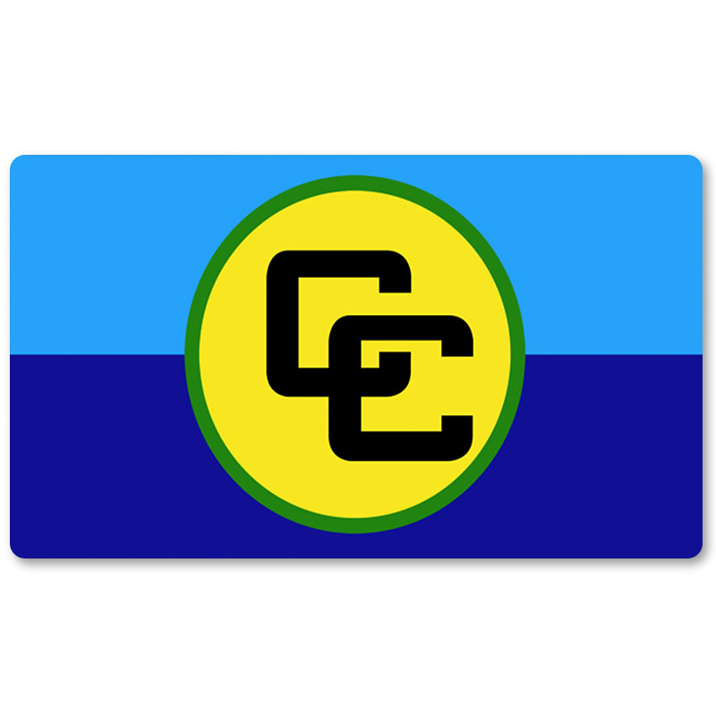 Country Flag Playmats - Caribbean Community - Board Game Mat Table Mat Mouse Mat Mouse Pad 60 x 35CM