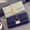 Aolen Purses Rfid Wallet Women Wallets Luxury Brand Designer Famous Leather Zipper Messenger Bags 2016 Large Short Purse Design