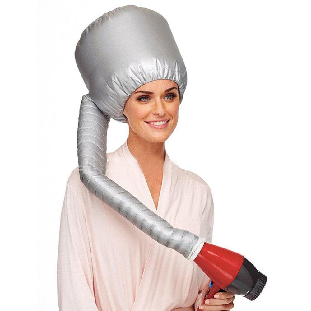 REBUNE Professional Soft Hair Dryer Salon Baking Hood Hair Care Steamer Hair Nursing Cap Bonnet Diffuser Portable Comfort Hat women night sleep hat long hair care chemo cap satin bonnet cap head wrap