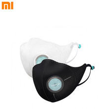 2pcs Xiaomi Mijia Airpop Light 360 Degree Air Wear Face Mask PM2.5 Anti-haze Adjustable Double Protection Face Masks(China)