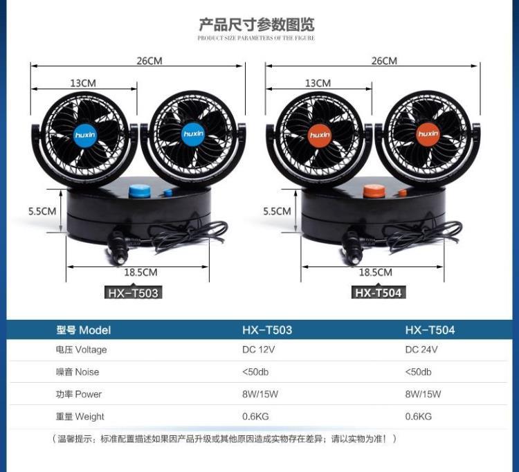 fan-503ZD12V2T and fan-504ZD24V2T