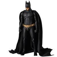 The Dark Night Batman Bruce Wayne Begins Suit Ver. PVC Action Figures Collectible Model Boy's Favorite Toys Doll 18cm