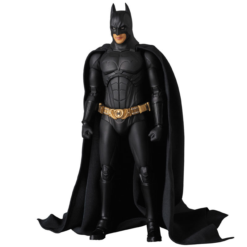 The Dark Night Batman Bruce Wayne Begins Suit Ver. PVC Action Figures Collectible Model Boys Favorite Toys Doll 18cm