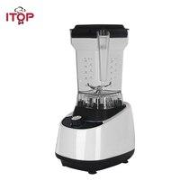 ITOP Beyaz ticari mikser Gıda Mikserler Sebze Meyve Suyu Sıkacağı Milk Shake Makinesi Yüksek Hızlı Profesyonel Karıştırıcılar