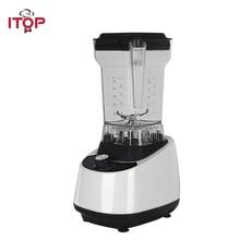 ITOP White Commercial Blender Food Mixers Vegetable Fruit Juice Extractor Milk Shake Maker High Speed Professional Blenders