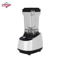 ITOP White Commercial Blender Food Mixers Vegetable Fruit Juice Extractor Milk Shake Maker High Speed Professional Blenders