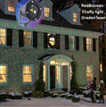 Waterproof IP65 Outdoor Christmas Light RG Elf Laser Projector Garden Landscape Decorative lights