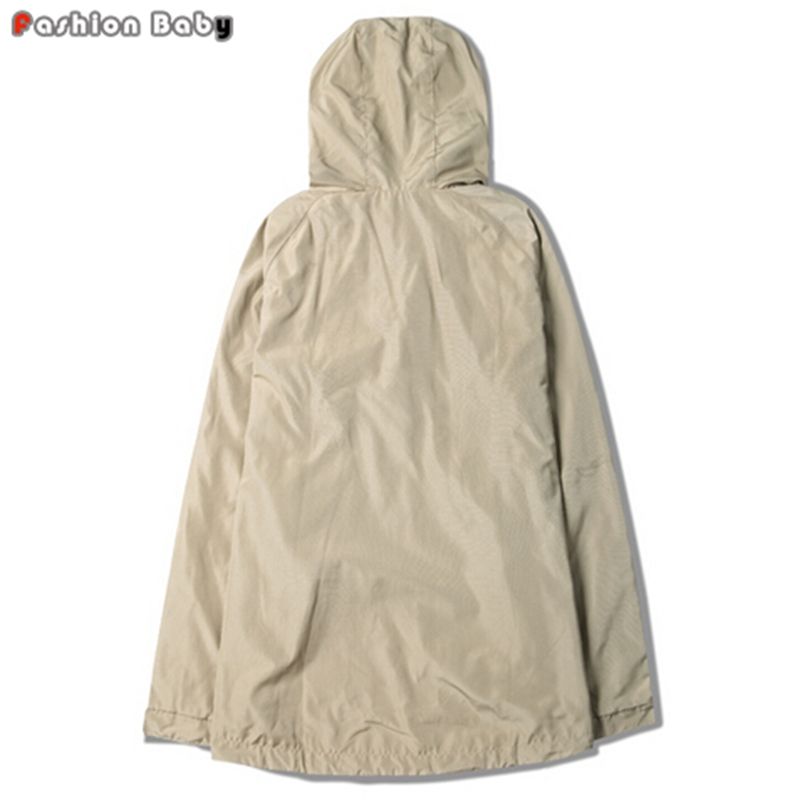 fd042090e Apricot Army Green Hooded Trench Coat Men s Fashion Ribbon Weaving  Streetwear Jacket Coats 2016 Autumn New-in Trench from Men s Clothing on  Aliexpress.com ...