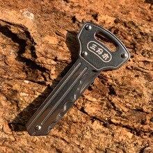цена на Sanrenmu 4113 Mini Key Knife Multi-functional Folding Knife EDC Key Chain/Ring Outdoor Camping Tool Bottle Opener