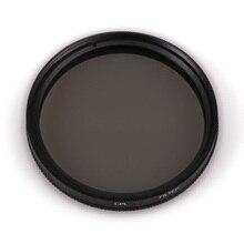 Filtro de polarización Circular para cámara Canon, EOS, Nikon, Sony, 25, 28, 37, 40,5, 46, 49, 52, 55, 58, 62, 67, 72, 77, 82mm