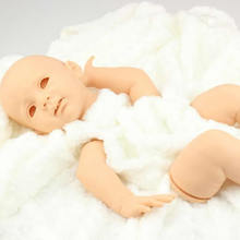 De haute qualité En Silicone Vinyle Reborn Baby Doll Kits Inachevé Poupée Modèle Tête Et 3/4 Membres 24 Pouces Bébé Poupées Accessoires