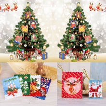 Christmas card wishes promotion shop for promotional christmas card multi patterns xmas greeting cards birthday valentine christmas card gift hot christmas wish card pendants put it on xmas tree m4hsunfo