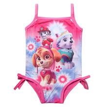 Girl Kids Swimsuit Cartoon Bathing Suit Print Children Swimwear Bikini Tankini Baby Girl Summer Swimming Costume  CU934913