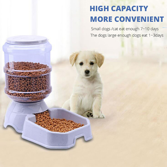3.8L Automatic Pet Feeder Dog/Cat Drinking Bowl 2