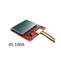 4S 100A/80A 3 7 V Lithium Batterie Schutz Bord/BMS 3 2 V LiFePo4 Polymer Eisen Lithium Gürtel ausgewogene Power Tool Solar Energie-in Batteriezubehörteile aus Verbraucherelektronik bei