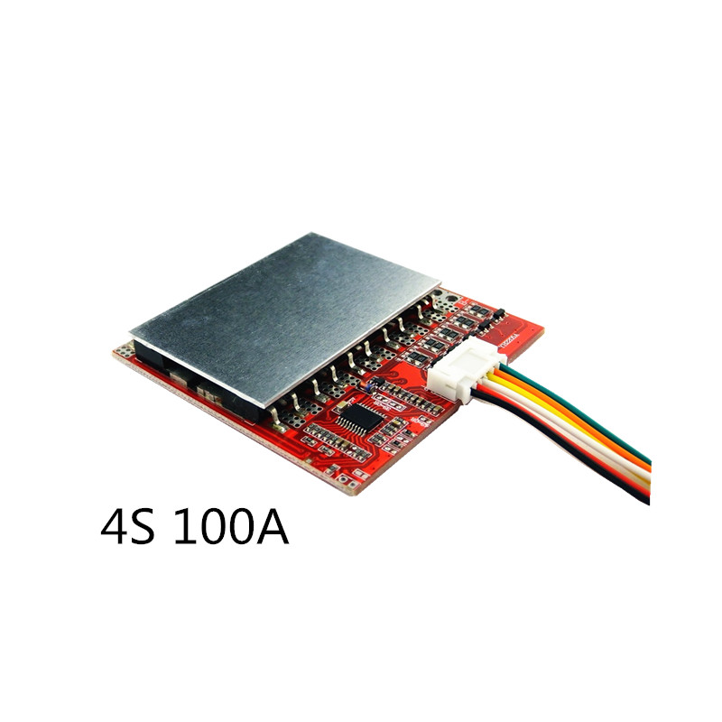 4S 100A/80A 3.7V Lithium Battery Protection Board /BMS 3.2V LiFePo4 Polymer Iron Lithium Belt Balanced Power Tool  Solar Energy