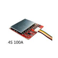 4S 100A/80A Lithium Battery Protection Board /BMS Polymer Iron Lithium Belt Balanced Power Tool Inverter Solar Energy