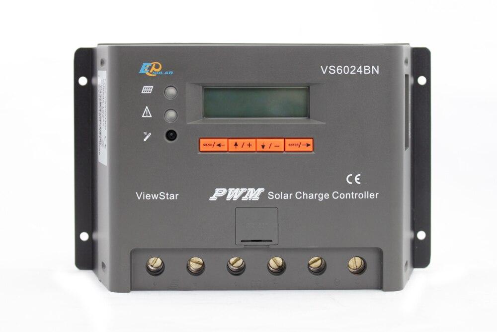 EPEVER VS6024BN 60A 60amp 12v 24v auto work solar panel battery charging controller PWM regulatorEPEVER VS6024BN 60A 60amp 12v 24v auto work solar panel battery charging controller PWM regulator