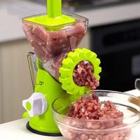 Manual Meat Grinder Household Mincer Sausage Machine Stainless Steel Blade Spice Vegetable Chopper Mincer Kitchen Food Processor