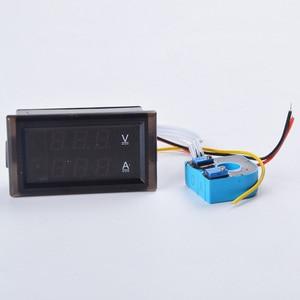 Image 3 - 0.28  LED DC Digital Voltage Current Meter LCD 100V 300V 600V.100A 200A 300A Voltmeter Ammeter with Hall Transformer