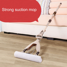HADELI Glue Cotton Mop Sponge Twist The Water Microfibre Nozzle Flat Rotated Spray Self-squeezing without hand washing