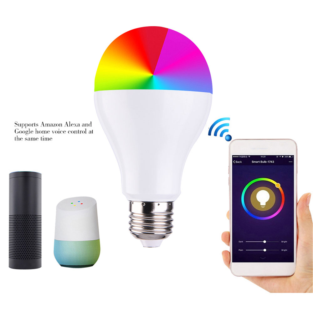 Ehrgeizig App Remoto Control Wlan Licht Lampe Led-lampe Bar Party Schlafzimmer Atmosphäre Lampe Smart Durable Super Helle