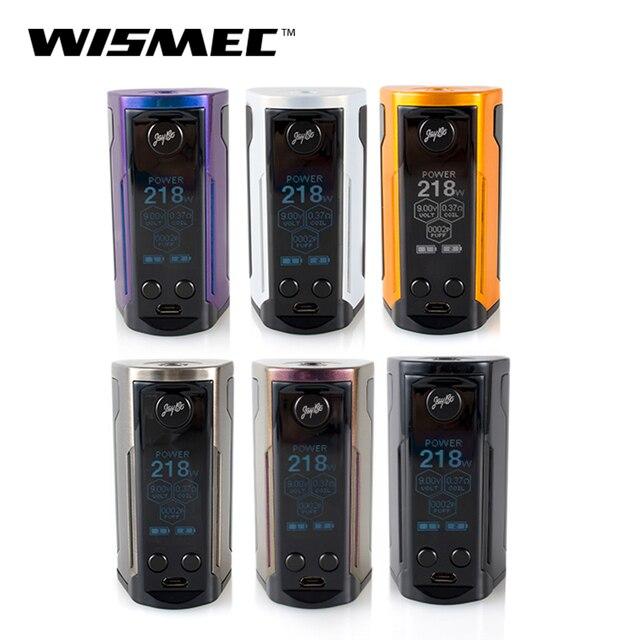 100% Оригинальные WISMEC Рел RX GEN3 двойной TC поле Mod Выход 230 Вт мощность 510 пружиной Разъем электронные сигареты