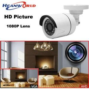Image 2 - Heanworld 1080P AHD camera 2.0MP HD Outdoor bracket analog Camera night vision security CCTV Surveillance camera ABS plastic