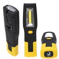 20 шт./лот Портативный светодиодный фонарик магнитные Worklight факел удара палатки света с крюком желтый/красный/синий